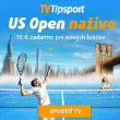 US Open naživo na TV Tipsport!